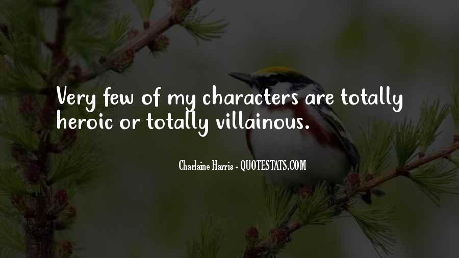 Villainous Quotes #621519