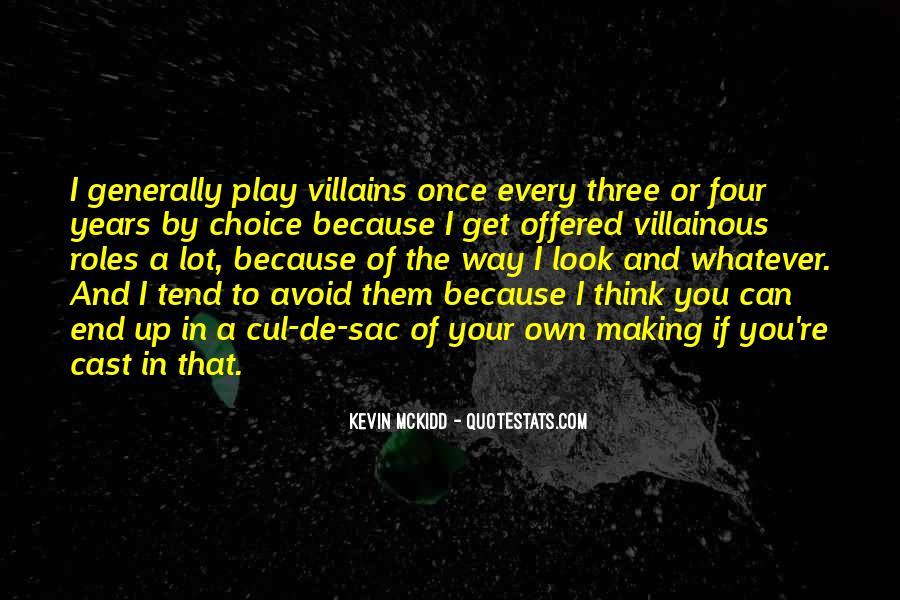 Villainous Quotes #660330
