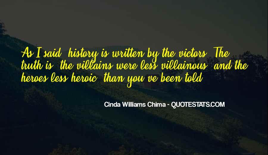 Villainous Quotes #854022