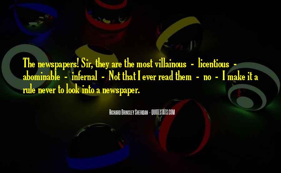 Villainous Quotes #955730