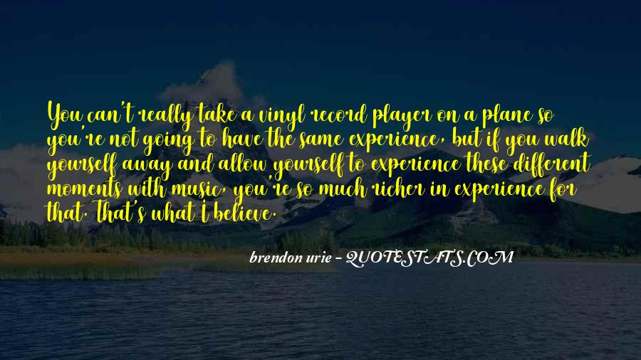 Vinyl Record Player Quotes #485182