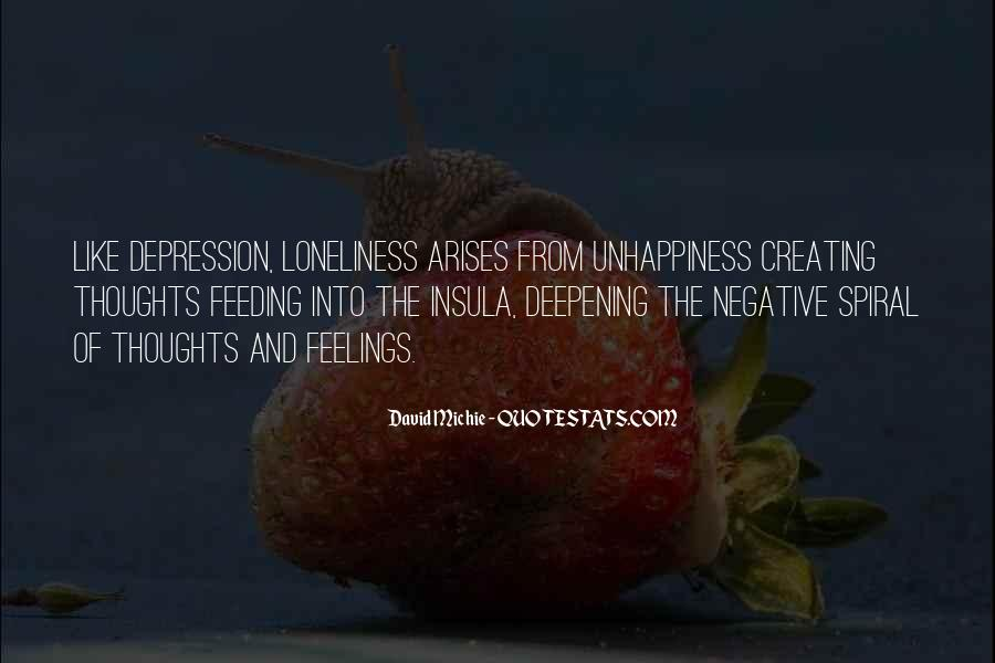 Quotes About Depression And Loneliness #110108