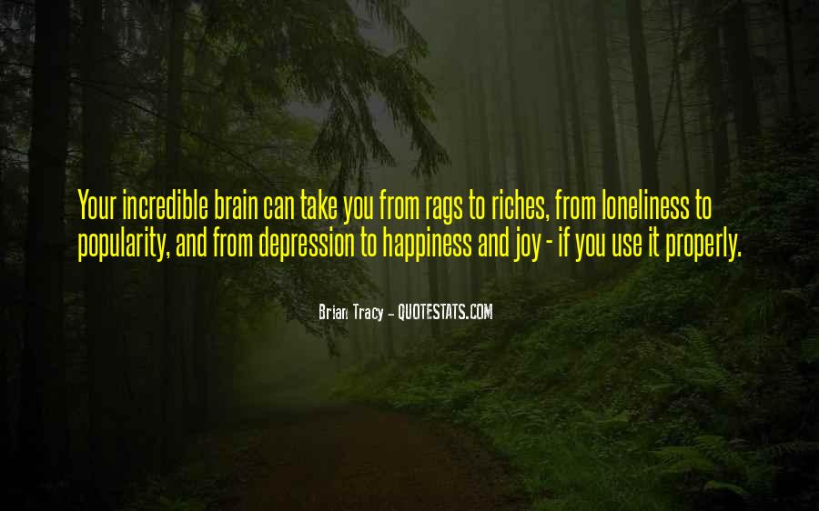 Quotes About Depression And Loneliness #182639