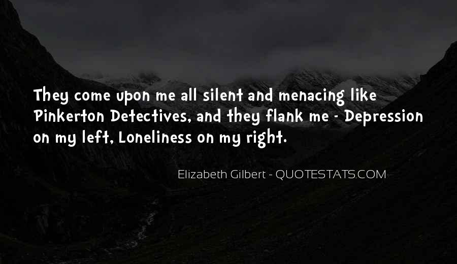 Quotes About Depression And Loneliness #199736