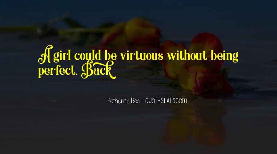 Virtuous Girl Quotes #1062373