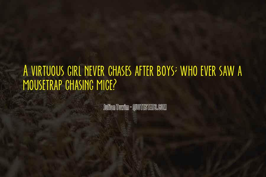 Virtuous Girl Quotes #918169