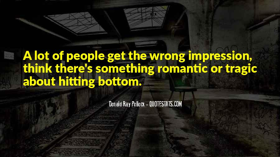 Quotes About Hitting The Bottom #1820178