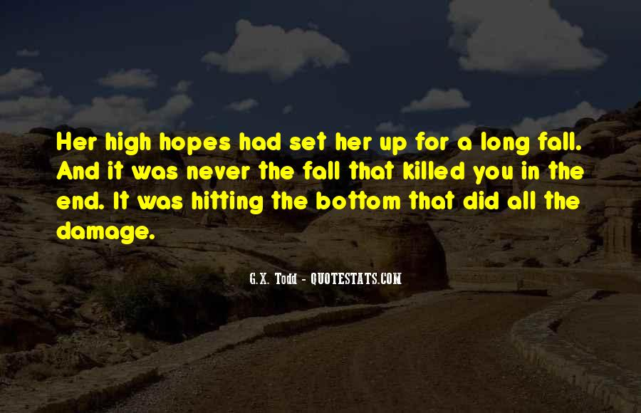Quotes About Hitting The Bottom #397176
