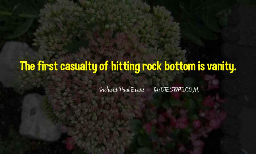 Quotes About Hitting The Bottom #732376