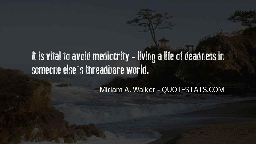Vital Life Quotes #922663