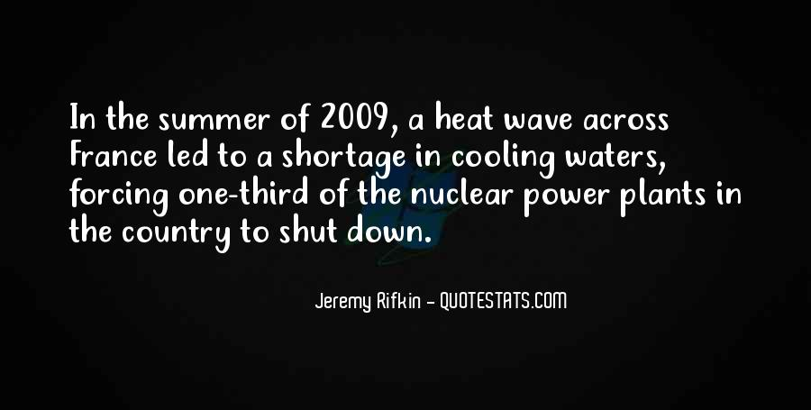 Quotes About Power Shortage #496115