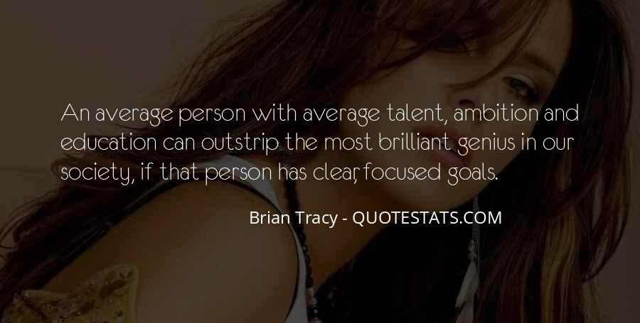 Quotes About Ambition And Success #145309