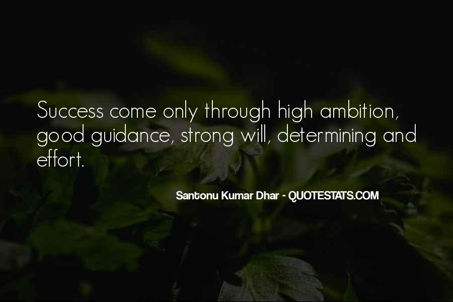 Quotes About Ambition And Success #1582519