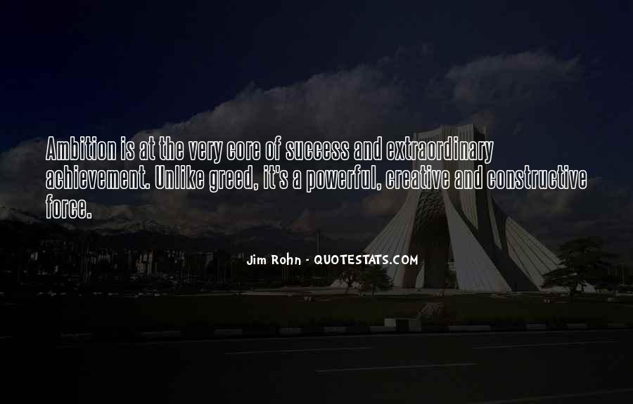 Quotes About Ambition And Success #380079