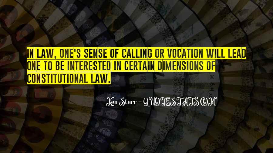 Vocation Calling Quotes #1691219