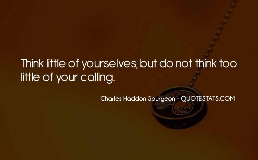 Vocation Calling Quotes #486212