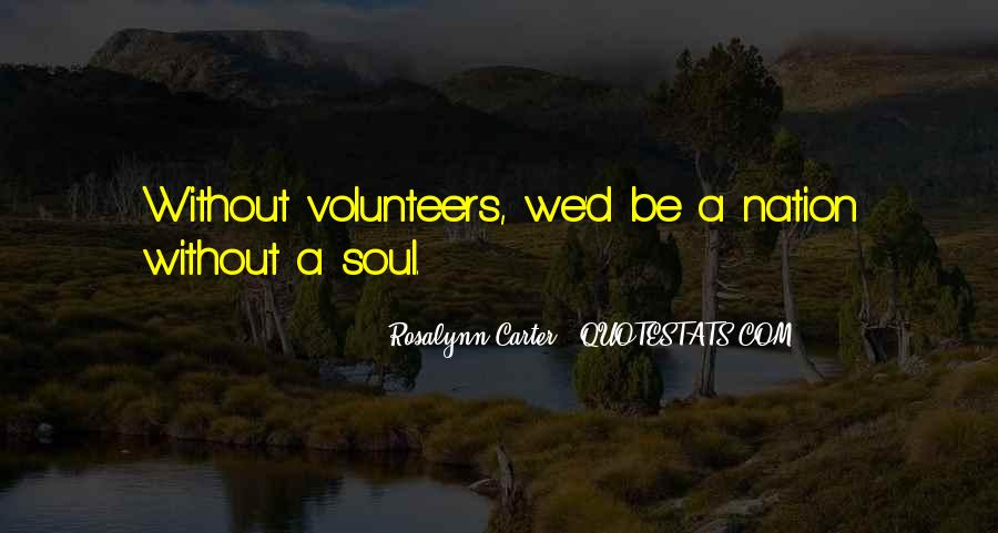 Volunteer Quotes #413897