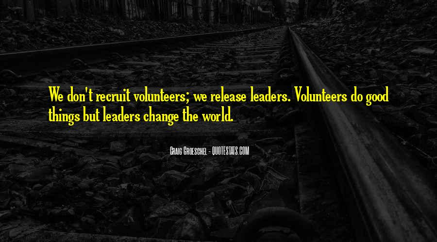 Volunteer Quotes #414139