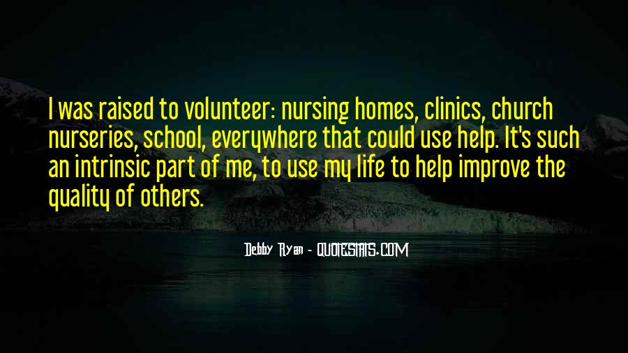 Volunteer Quotes #72493