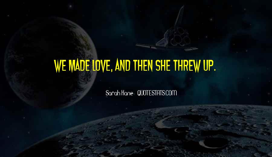 Vomit Love Quotes #287464