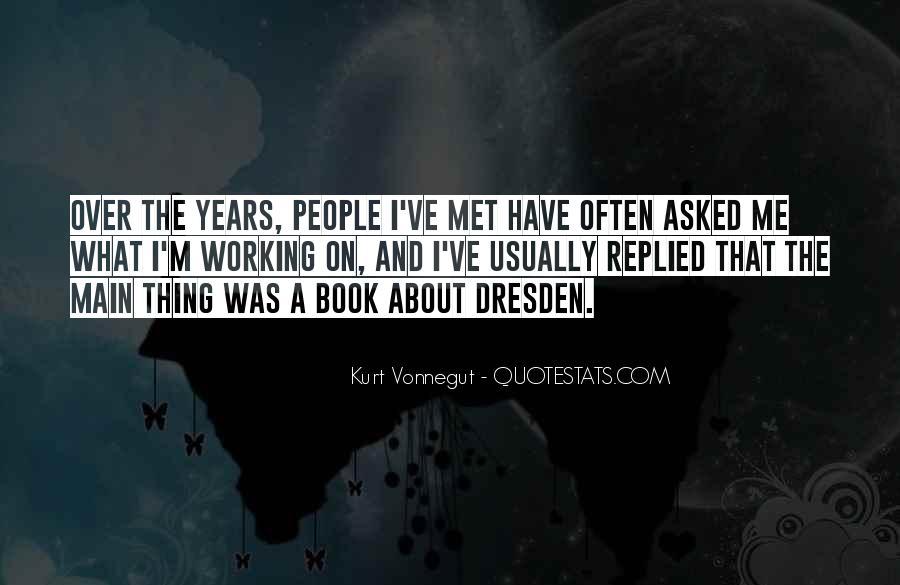 Vonnegut Dresden Quotes #743824