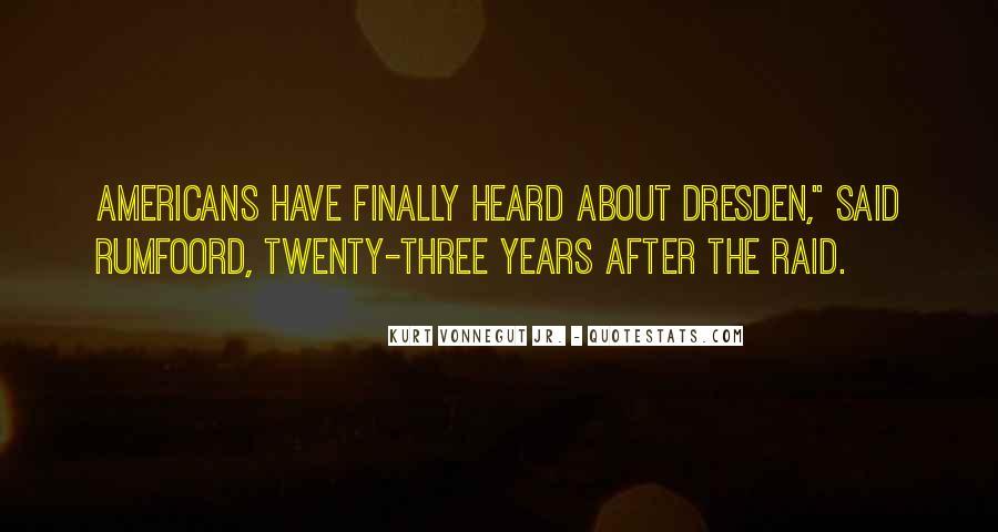 Vonnegut Dresden Quotes #951455