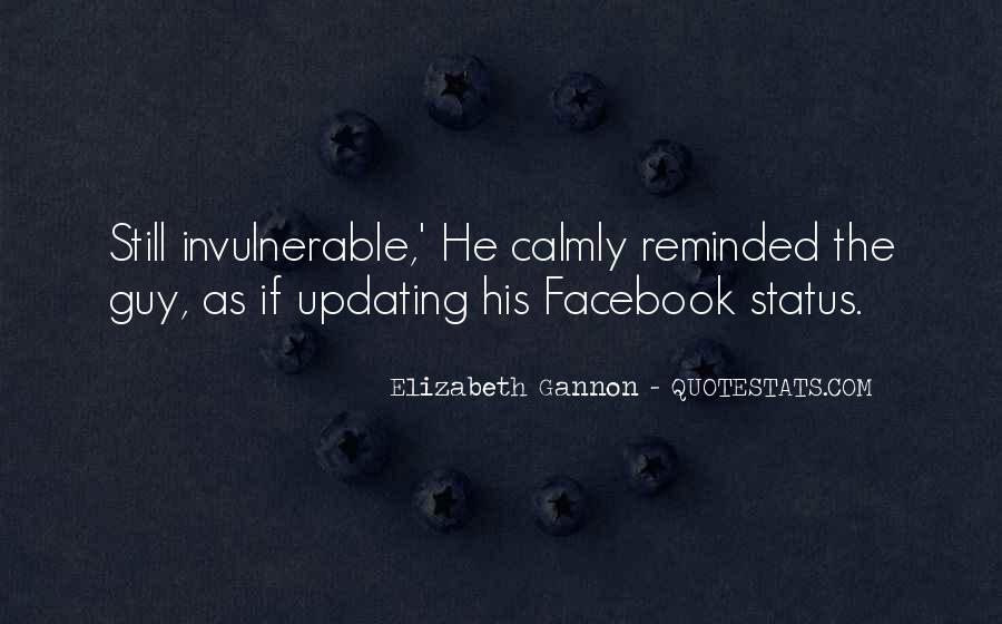 Quotes About Status In Facebook #1141234