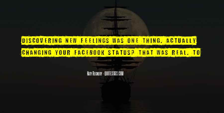 Quotes About Status In Facebook #1521047