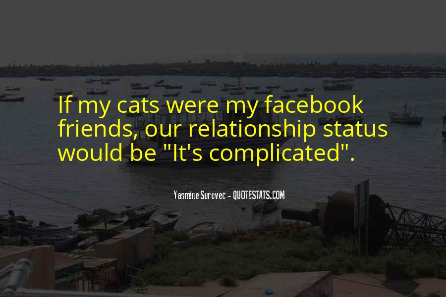Quotes About Status In Facebook #1701713