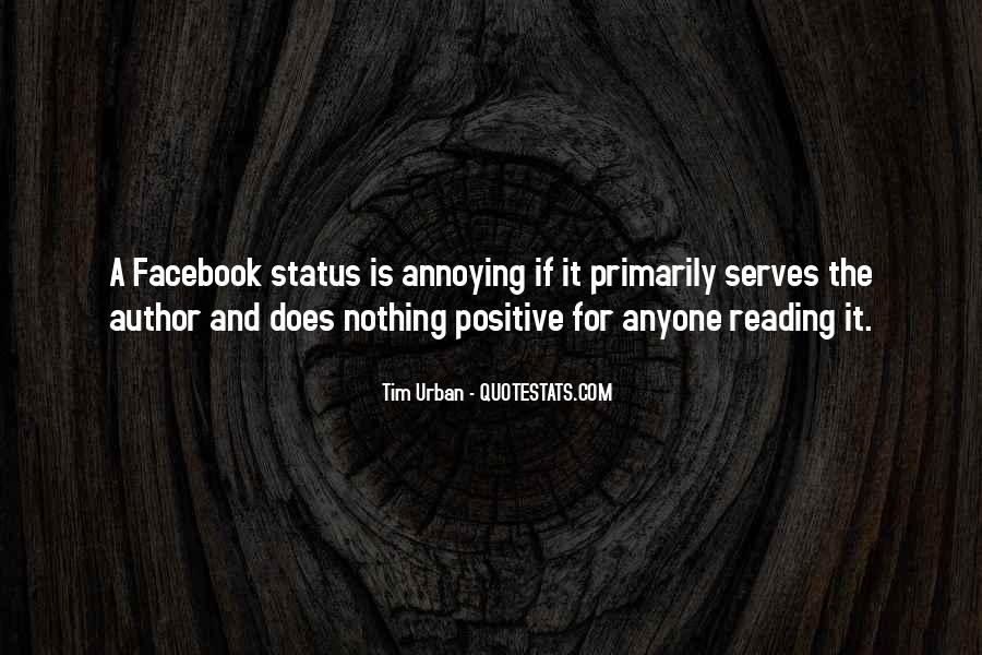 Quotes About Status In Facebook #1707336