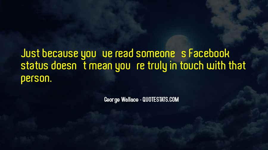 Quotes About Status In Facebook #553325
