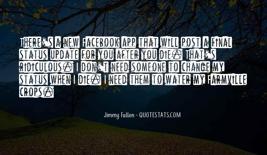Quotes About Status In Facebook #553342