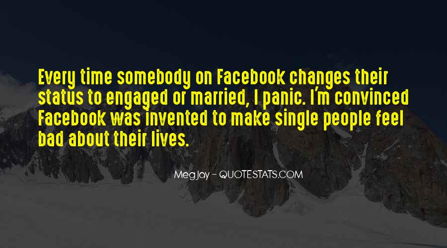 Quotes About Status In Facebook #618509