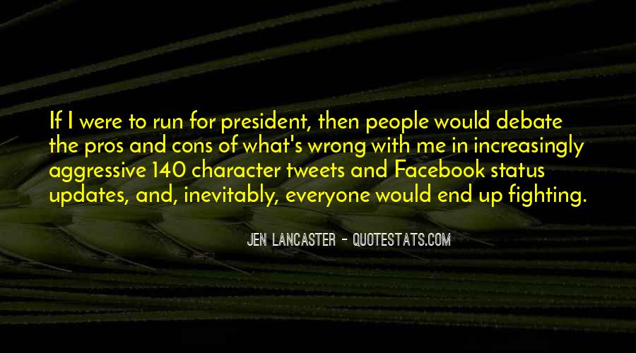 Quotes About Status In Facebook #718417