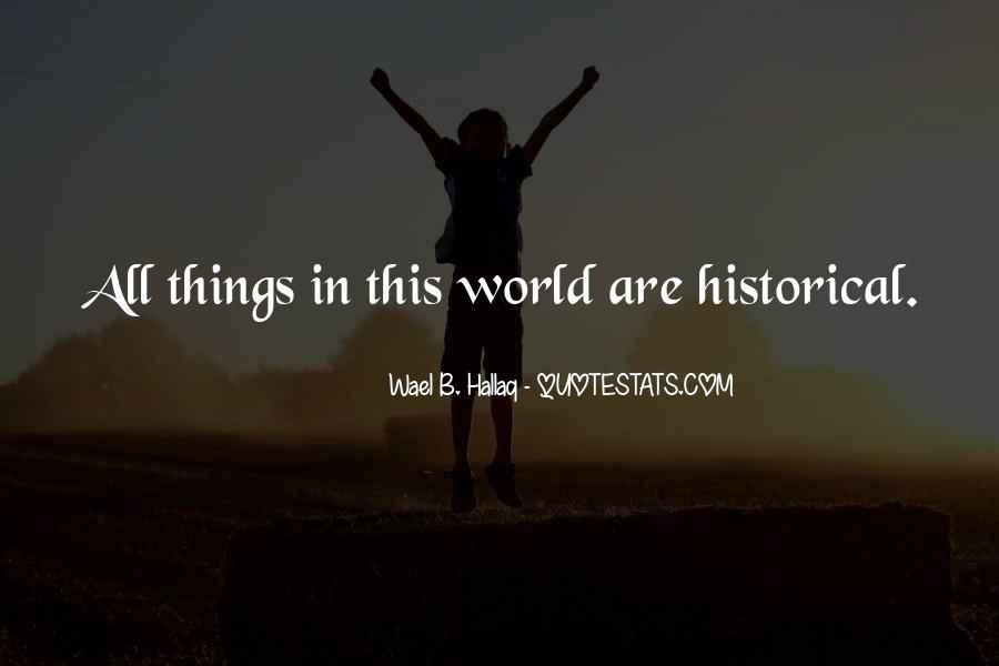 Wael Hallaq Quotes #1492080
