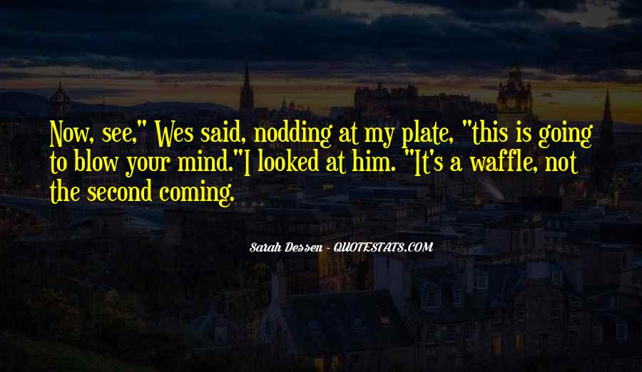 Waffle Quotes #366833