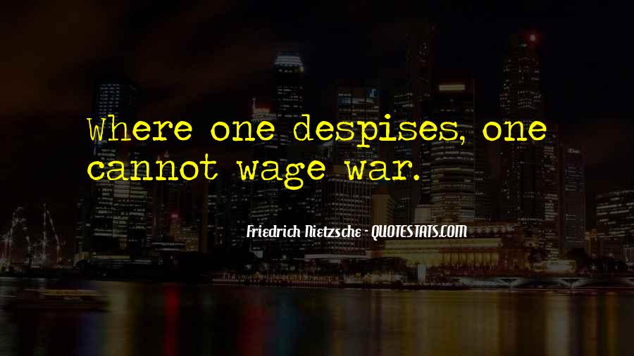Wage War Quotes #1169418