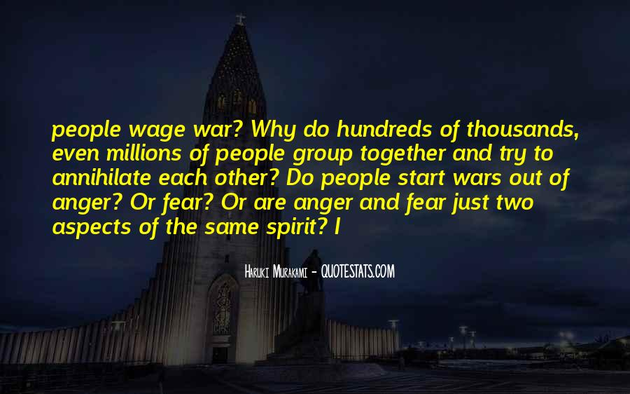 Wage War Quotes #208226