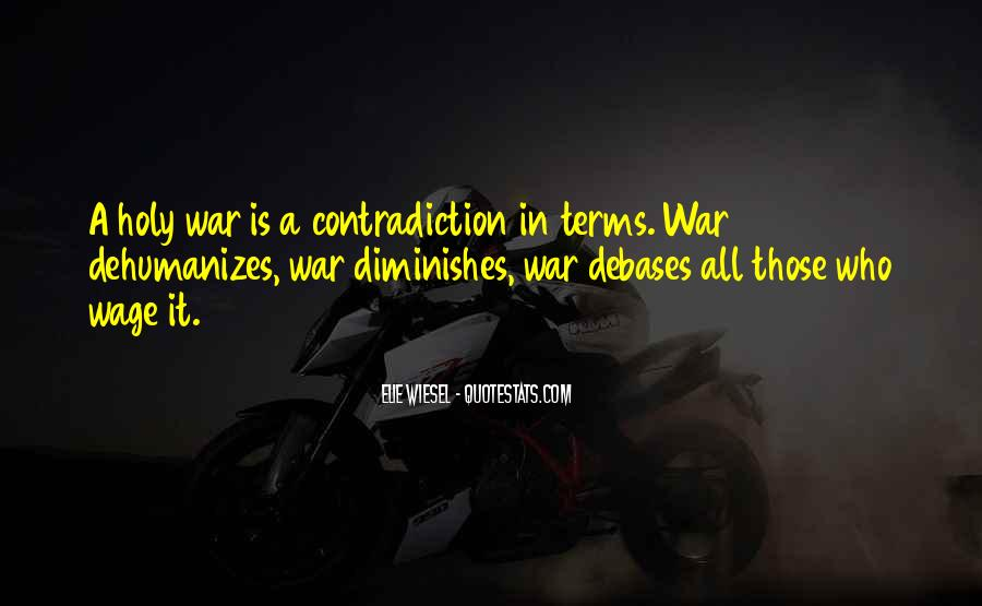 Wage War Quotes #217476