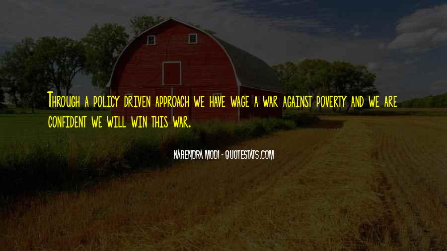 Wage War Quotes #530634