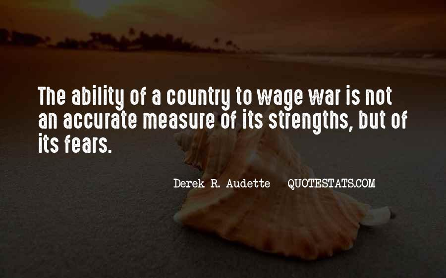 Wage War Quotes #702673