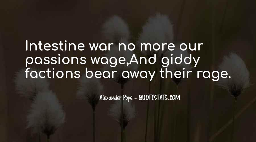 Wage War Quotes #796069