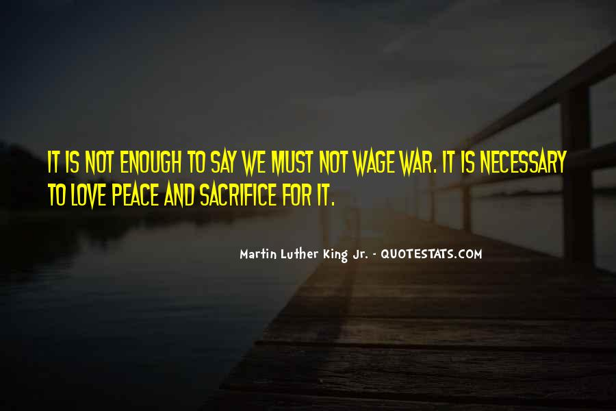 Wage War Quotes #985270