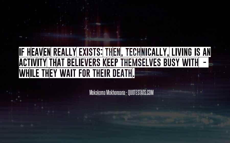 Wait Till Death Quotes #561661