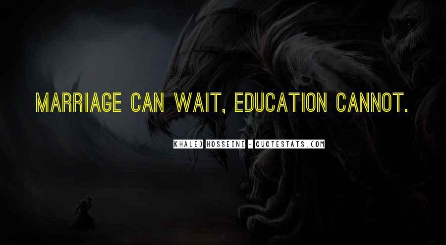Wait Until Marriage Quotes #1201732