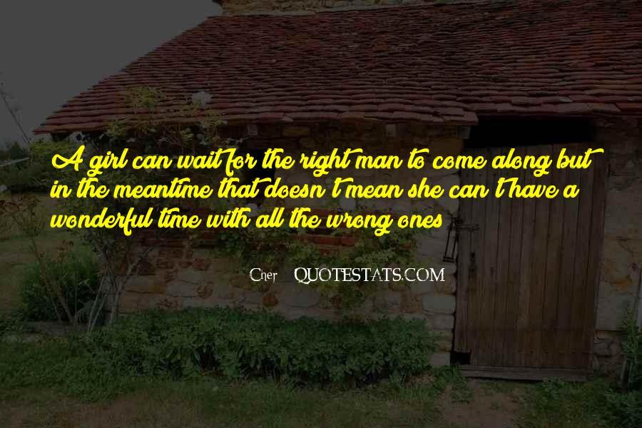 Wait Until Marriage Quotes #1301674