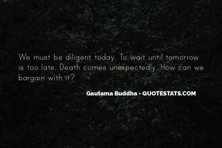 Wait Until Tomorrow Quotes #1049488