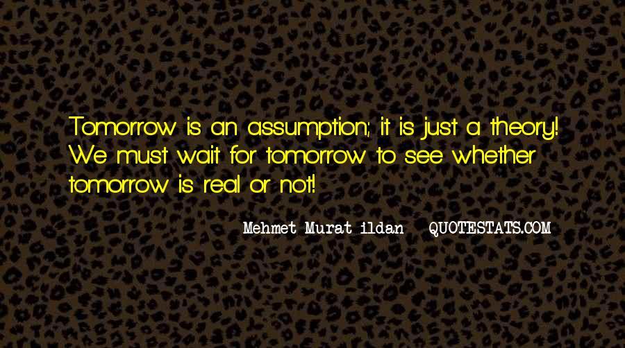 Wait Until Tomorrow Quotes #1360057