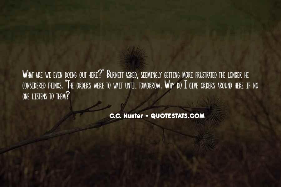 Wait Until Tomorrow Quotes #1570598