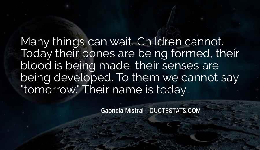 Wait Until Tomorrow Quotes #1804814